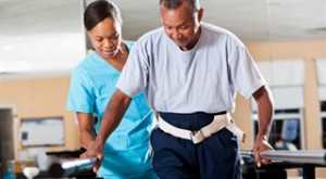 physical therapist rehab